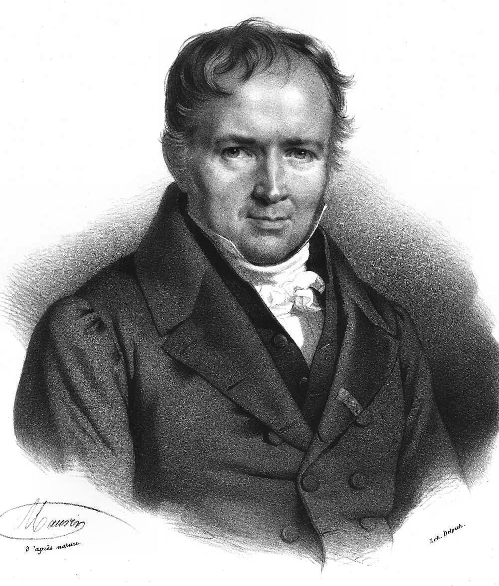 Simeon Poisson, after whom the Poisson distribution is named (this is why it always has a capital letter, except in our R code). \CUP{Source:https://upload.wikimedia.org/wikipedia/commons/b/b7/Simeon_Poisson.jpg}