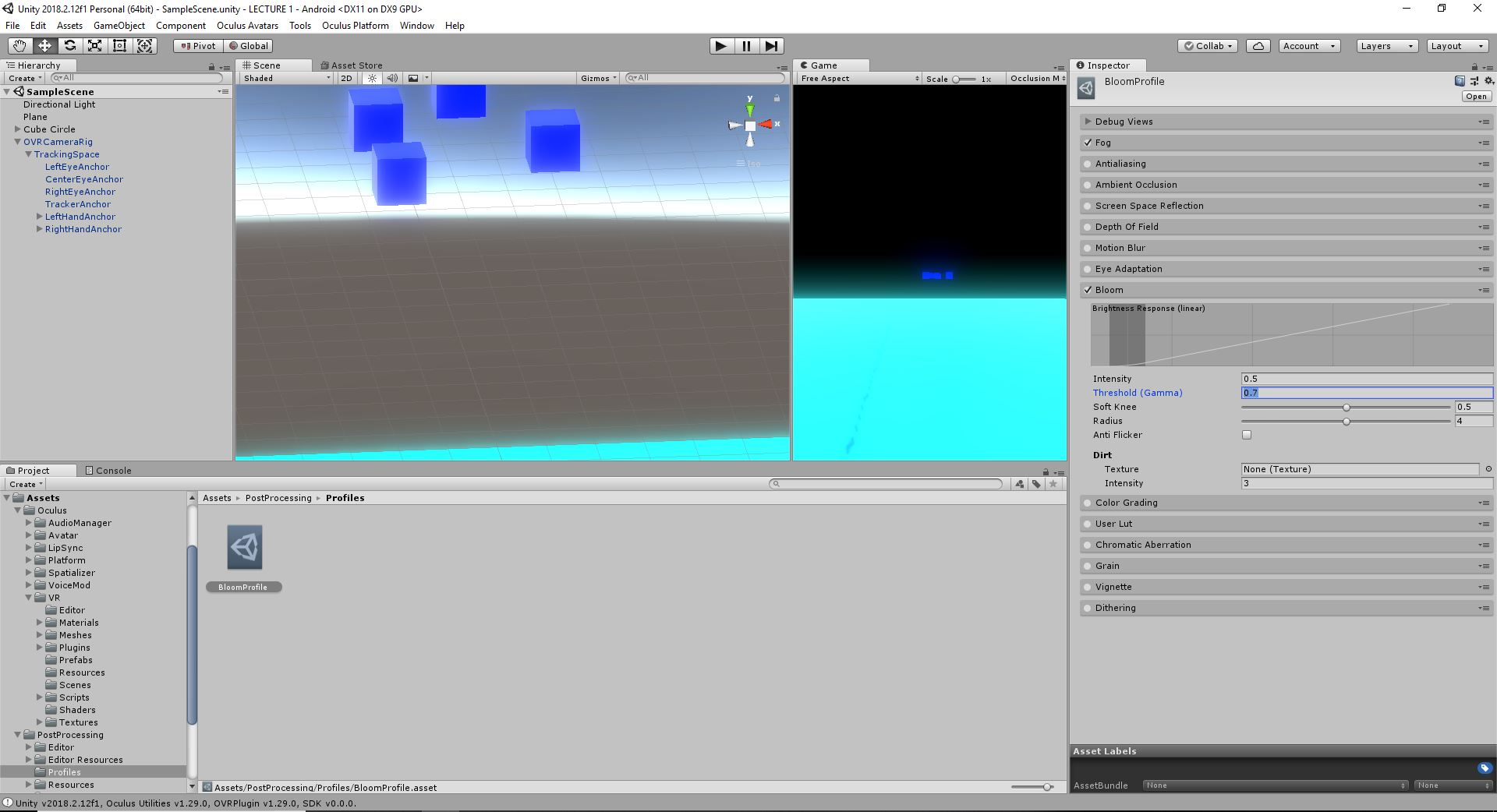 How to Make VR: Introduction to Virtual Reality Design and Development
