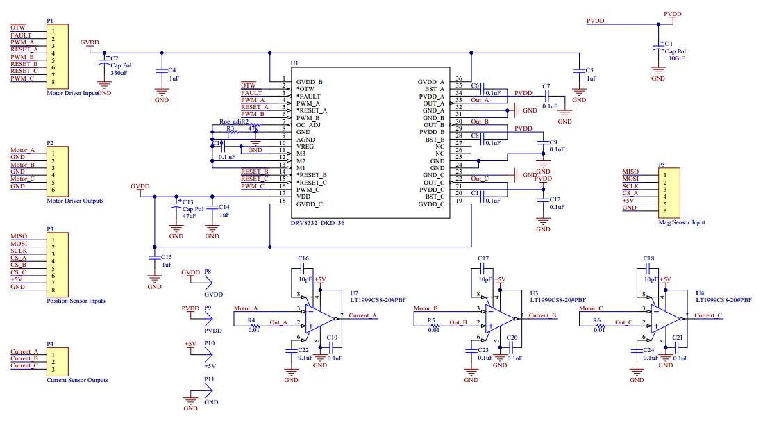 Electrical Design Bdml Brushless Dc Motor Controller