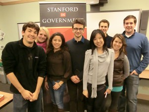 The Operations committee (left to right): Stefan Norgaard, Kate Morton, Lina Hidalgo, Jacob Kovacs-Goodman, Isabella Fu, Matt Izant, Erin Olivella-Wright, and Matt Anderson
