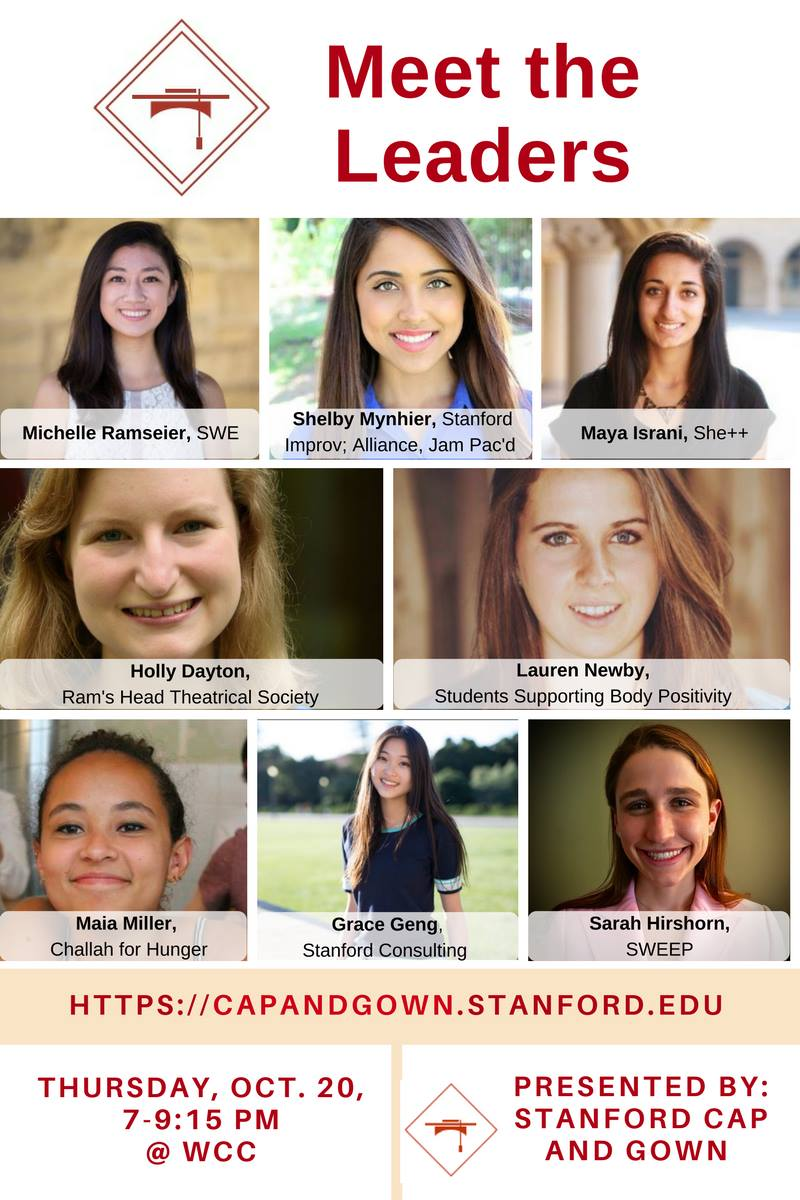 Cap And Gown Stanford Womens Leadership Organization