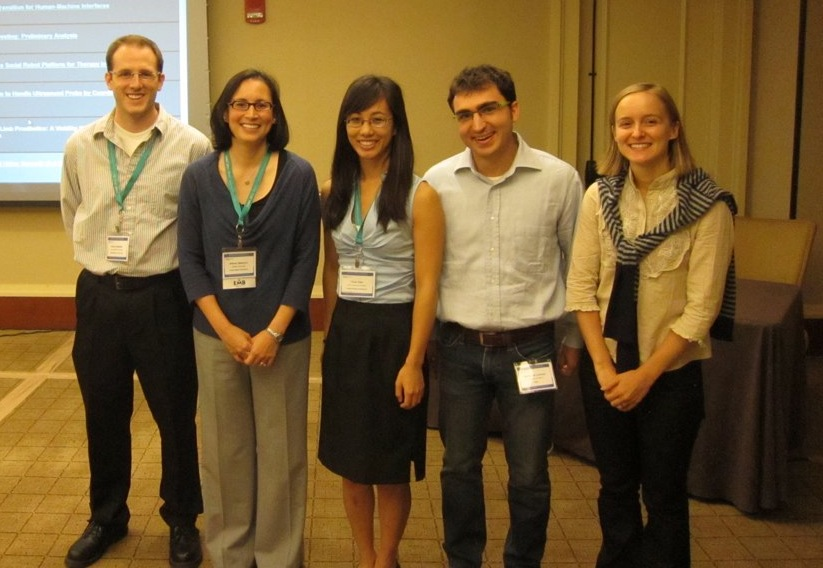 Haptics/CHARM Lab members at the IEEE Engineering in Medicine and Biology Conference