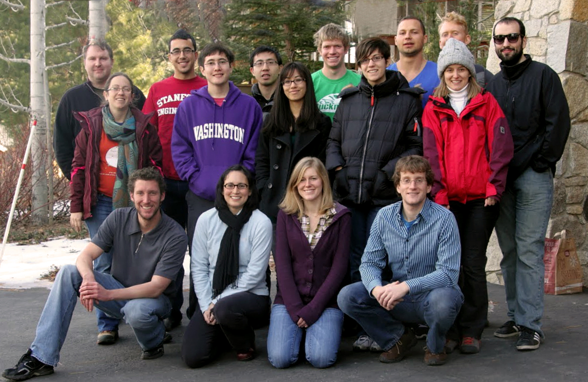 CHARM Lab members on retreat