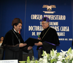 Universidad Autónoma del Estado de Morelos (UAEM) grants honorary doctorate to Rodolfo Dirzo Minjarez
