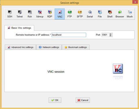 how to change vnc password windows