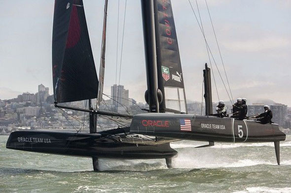 Oracle Team USA America's Cup