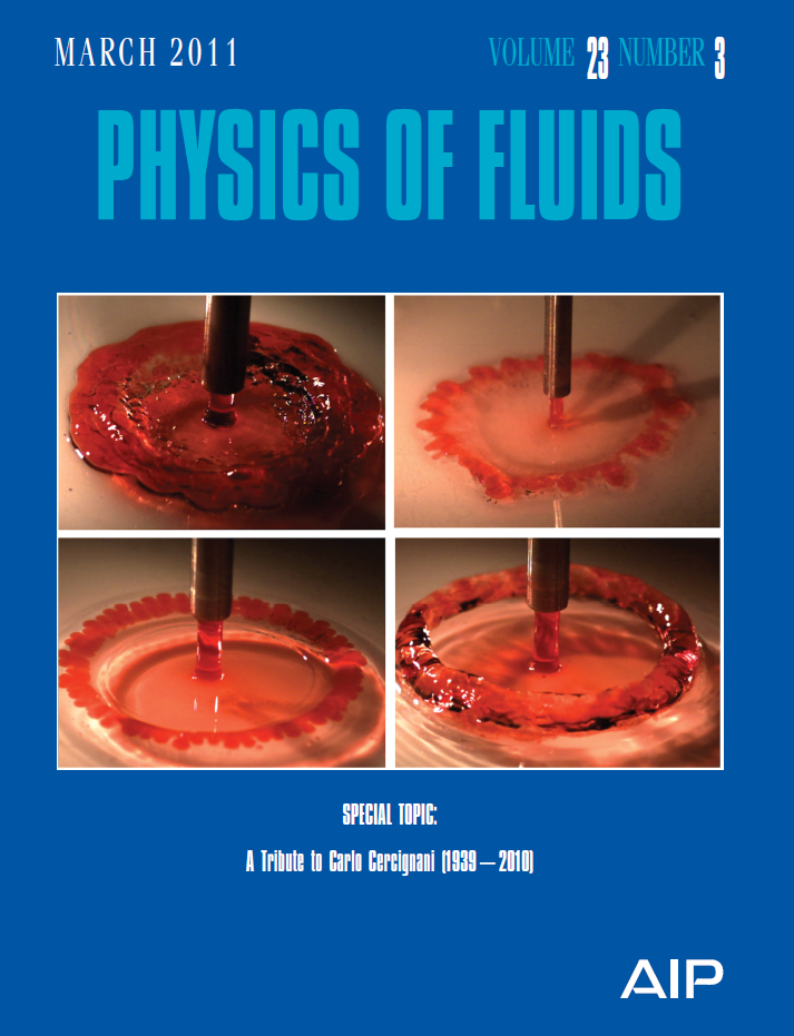 Physics of Fluids picture