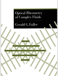Optical Rheometry of Complex Fluids