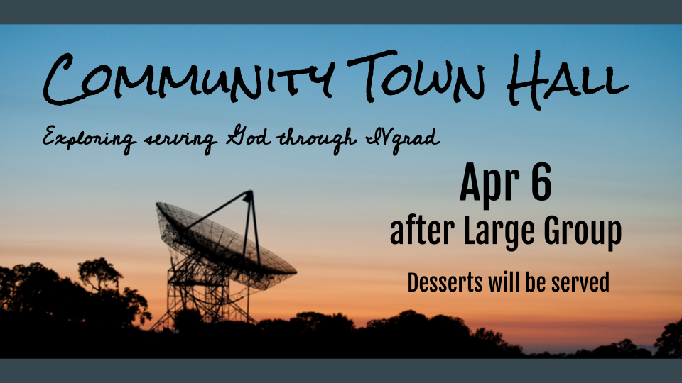 Community Town Hall Banner