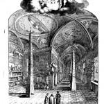 Kircher's museum at the Collegio Romano, from Giorgio de Sepibus, Romani Collegii Musaeum Celeberrimum, frontispiece