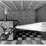 The magic lantern, from Giorgio de Sepibus, Romani Collegii Musaeum Celeberrimum, p. 39
