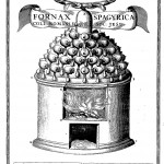 The spagyrical furnace of the Collegio Romano, from Mundus Subterraneus (1665 edn.) vol. 2, p. 392