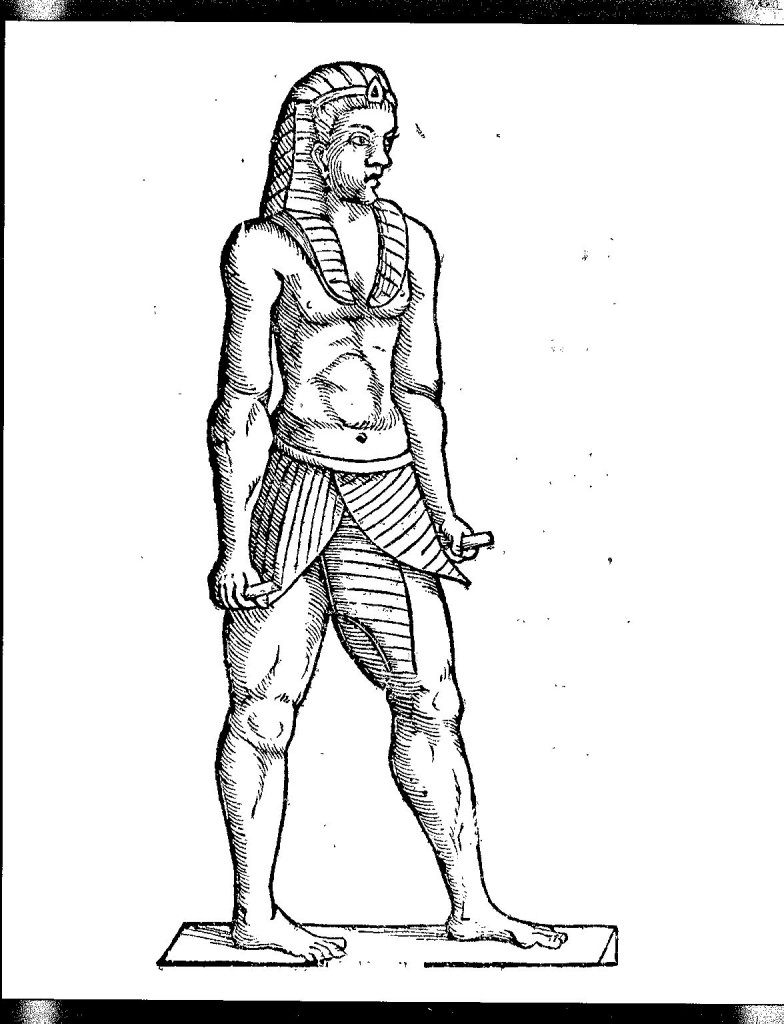 Egyptian speaking statue from the museum of Francesco Serra, from Oedipus Aegyptiacus, Tom. 3, p. 488.