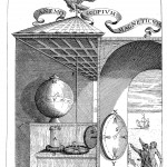 The magnetic anemoscope that Kircher built in Malta, from Magnes, sive de arte magnetica (1643 edn.), p. 322.