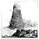 The Tower of Babel, from Turris Babel, p. 41.