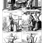 Local Chinese costumes, from China Illustrata, p. 112.