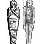 The wrapping of a mummy, from Sphinx mystagoga, p. 6.