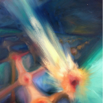 Untitled, oil on canvas -  Katherine Luna, Department of Physics