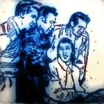 Elvis Lives -  Lou Charkoudian, Jay Fitzgerald, Chaitan Khosla, Andrea Champlin (MFA, Boston), Department of Chemistry