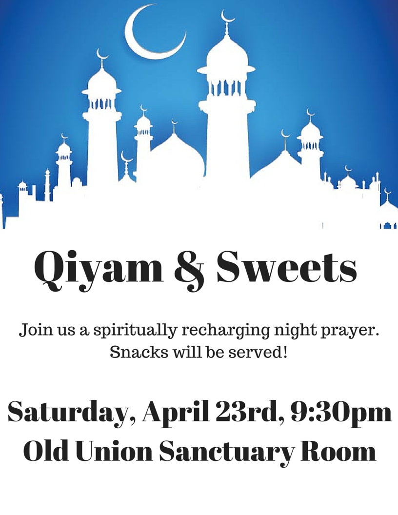 Qiyam & Snacks! (2)