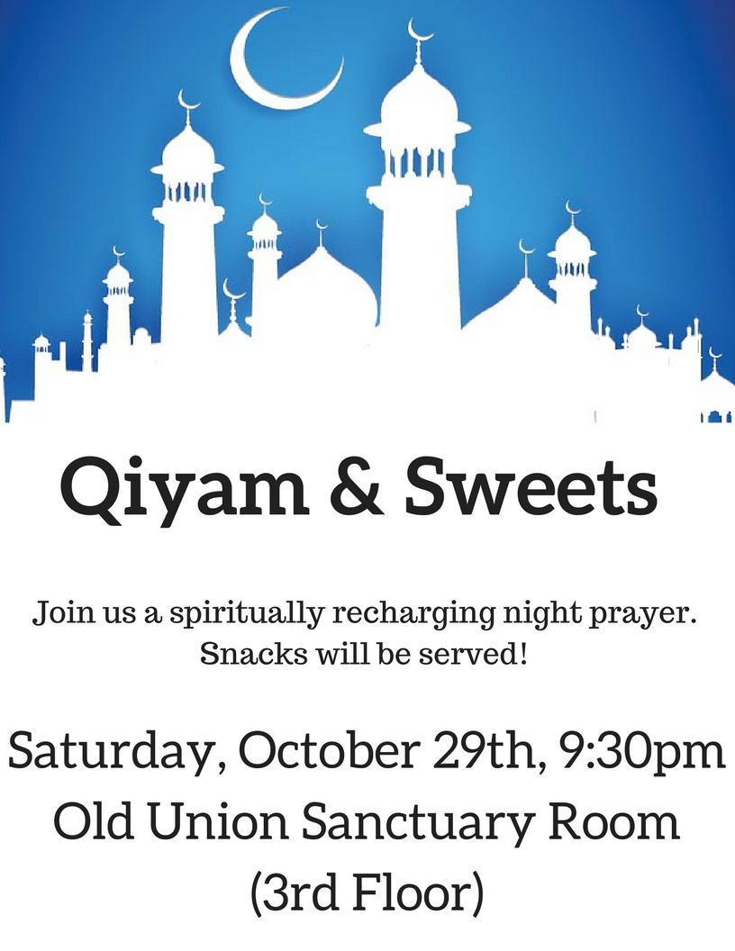 Qiyam & Snacks!