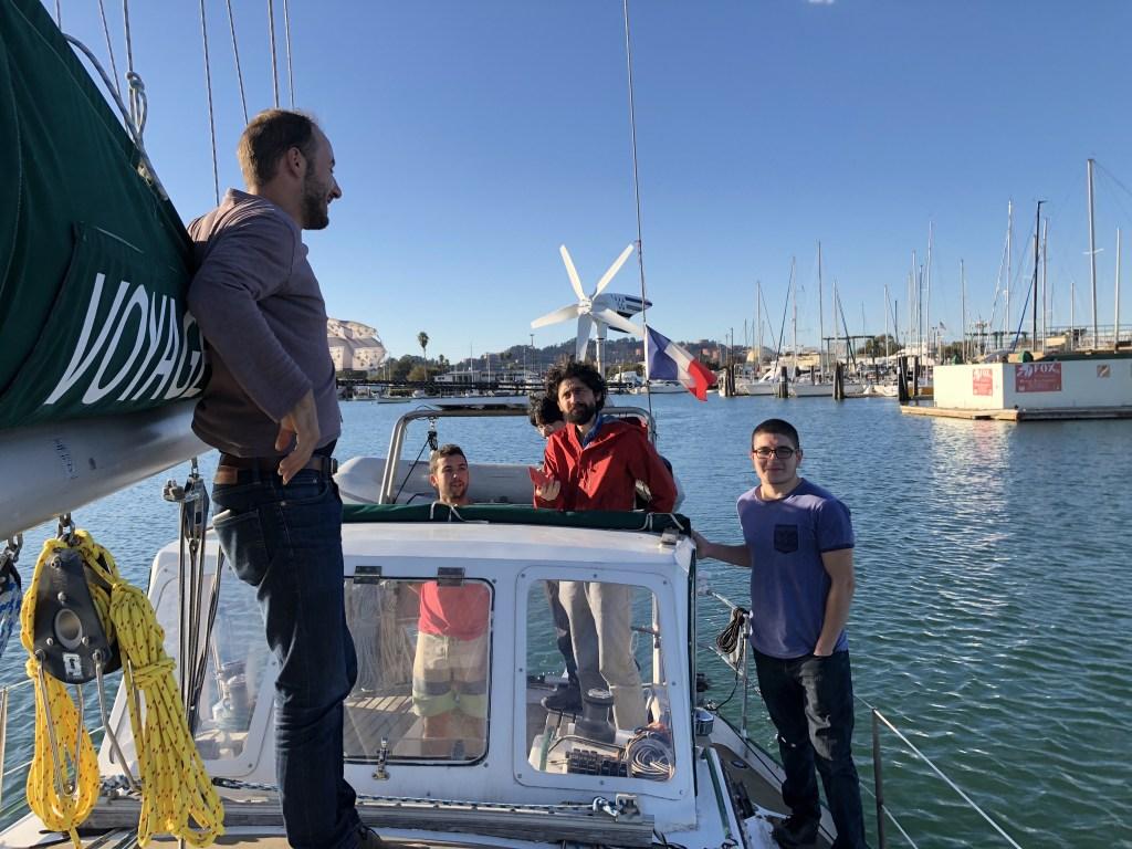 A beautiful day sailing on the San Francisco Bay