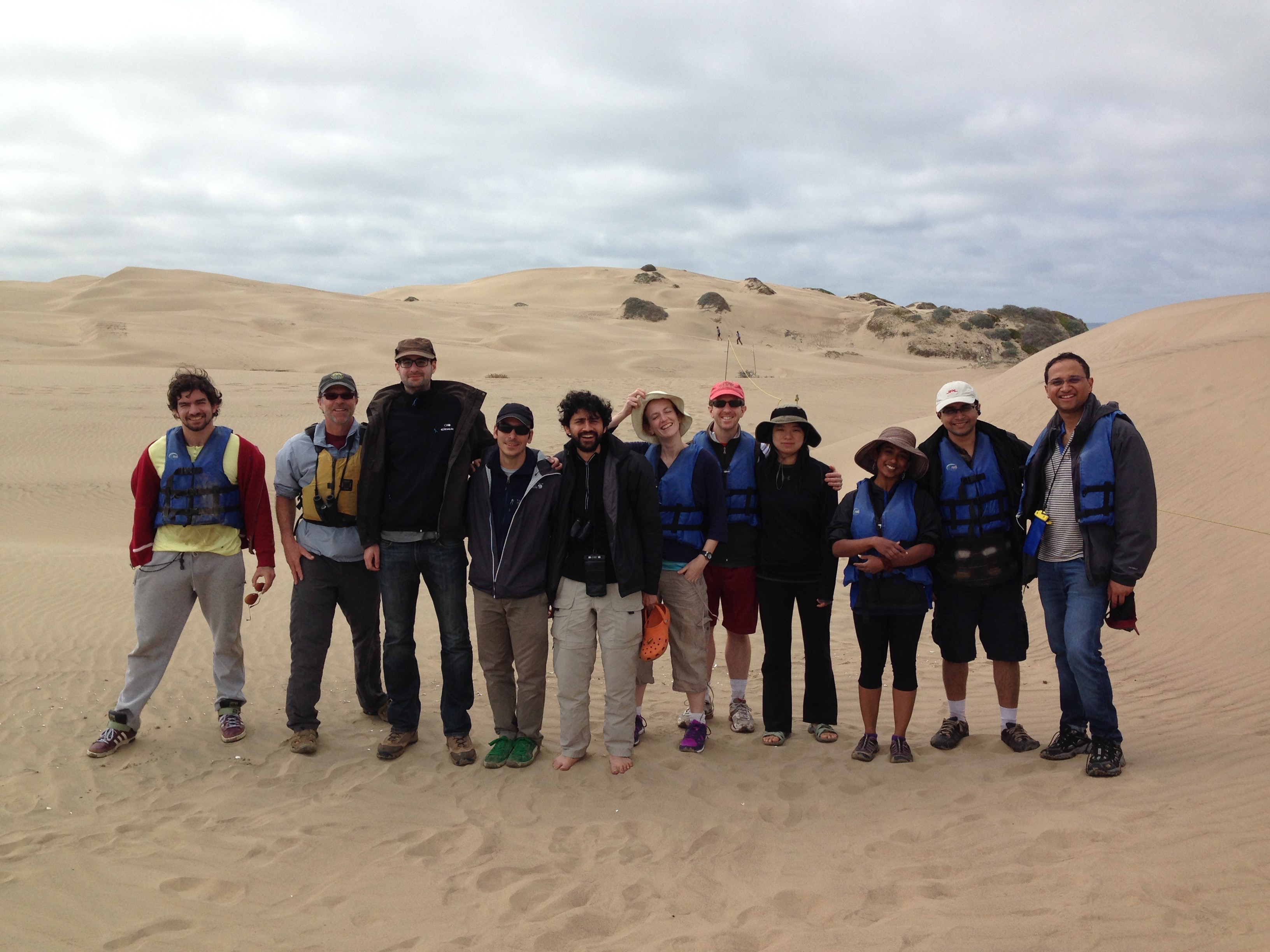 Sand Dunes Group Photo