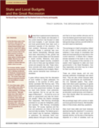 pdf-state budgets and the great recession
