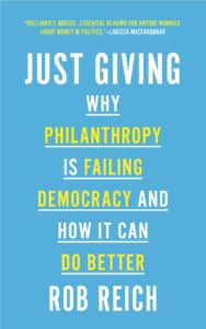 "Cover of the book ""Just Giving"""