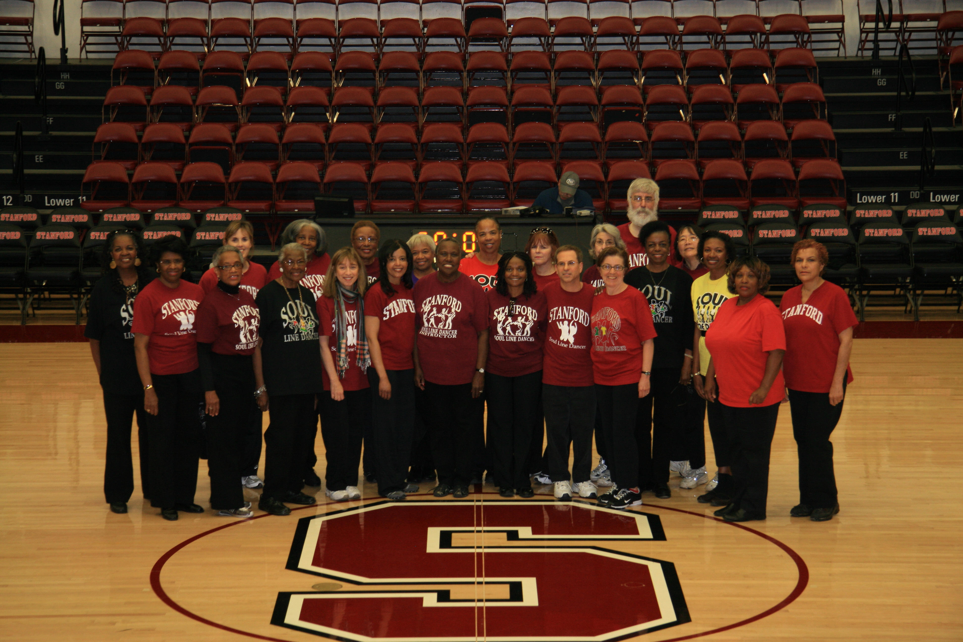 The Stanford Soul Line Dancers, Maples Pavilion , March 7, 2009