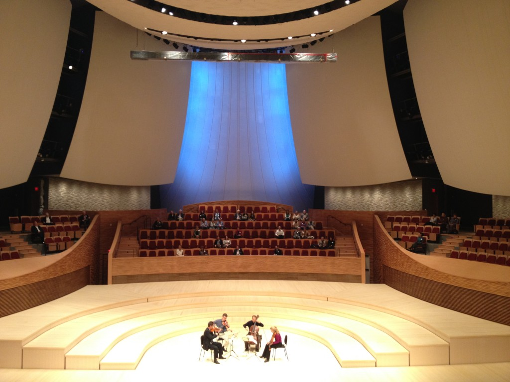 Preview of Bing Concert Hall!