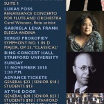 SPO 2018 Fall Concert