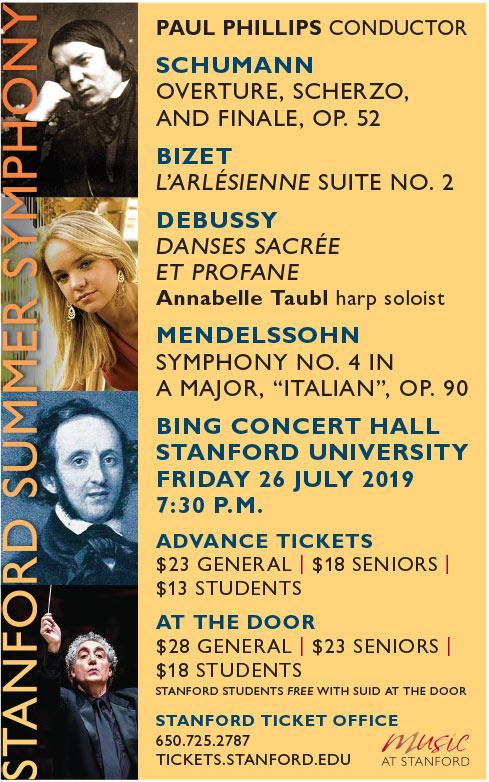 2018-19 Season | Stanford Symphony Orchestra