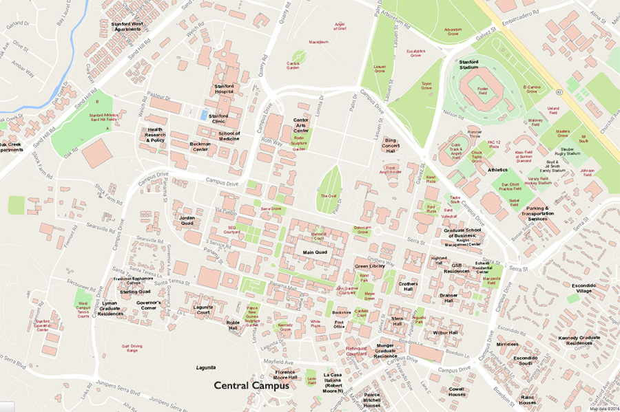 Bofs Central Campus Map Enlargment