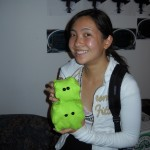 Catherine with HBV Plushies
