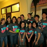 Fiona Ma (3rd from left) with Stanford Team HBV!