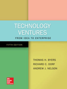 Technology Ventures Book