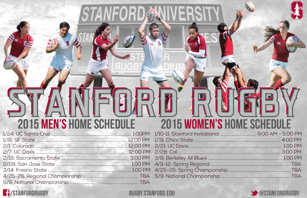 2015 Poster Stanford Rugby