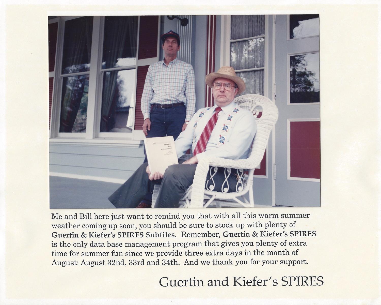 Guertin and Keifer's SPIRES