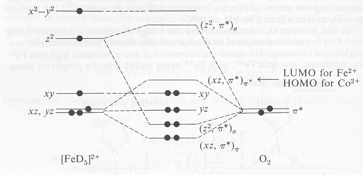 Iron Orbital Diagram For Fe Circuit Connection Diagram