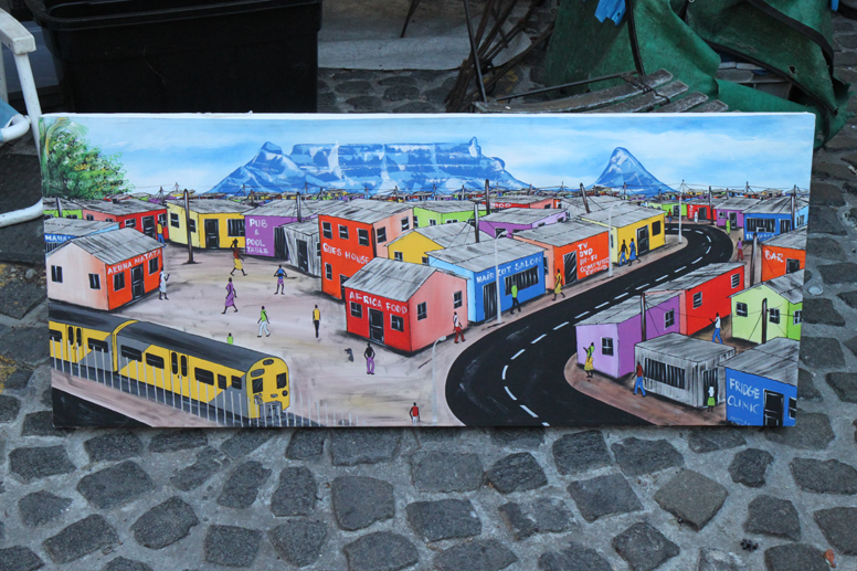 Cape Town painted