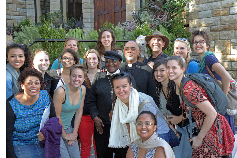Bishop Tutu and Stanford group