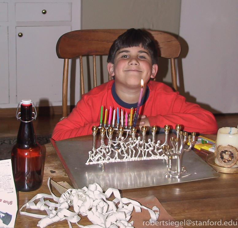 zarek at hanukkah