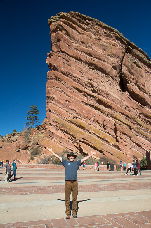 bob at red rocks