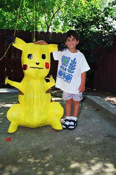 zarek and pikachu