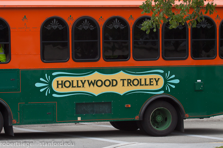 hollywood trolley