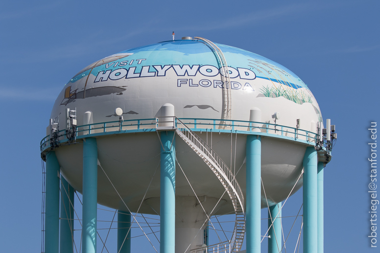 Visit Hollywood water tower