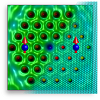 Quantum engineered Kondo lattices