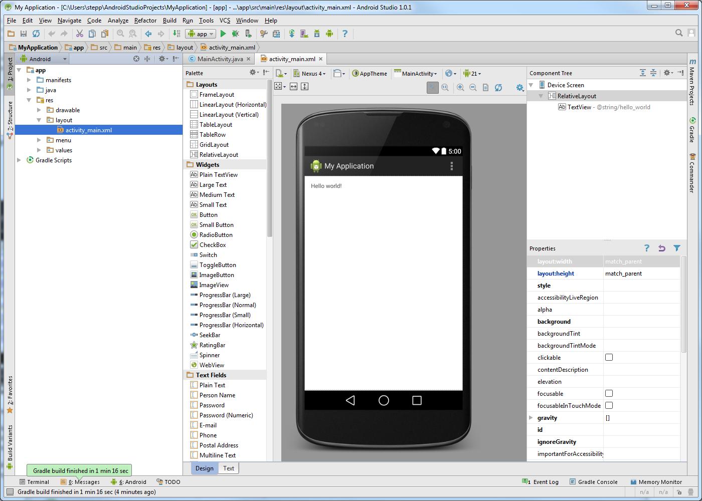 Android phone change app icon studio