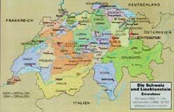 German Language And Culture III - Switzerland language map